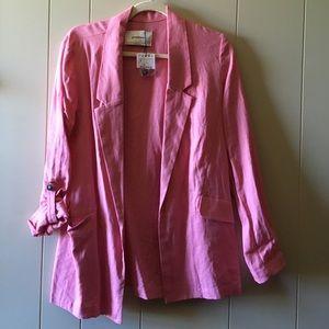 NWOT Stradivarius pink blazer